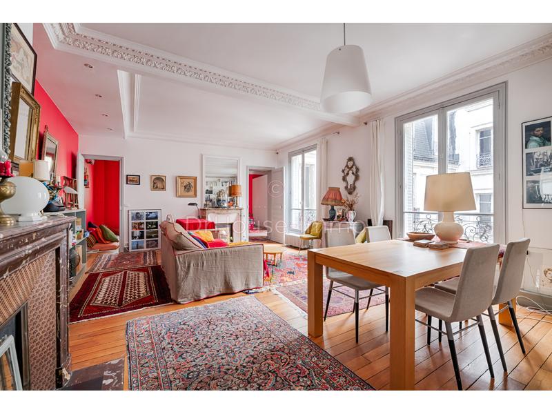 Appartement vente 3 pièces Paris 75m²