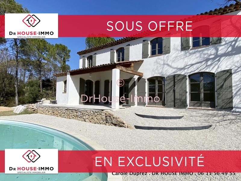 Maison/villa vente 6 pièces Lorgues 158m²